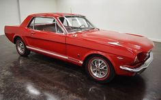1966 Ford Mustang GT A-Code Restored:C4 automatic transmission with 2 doors and red-colored interior and exterior qu'al' of 40,557 miles and a V8 engine with 289 wheels Styled; Numbers wine used: 6F07A245315 and numbers are matched.   This vehicle is available for sale, contact us on: www.misterdeals.com / or call us on: 08-05-08-02-81 if you are interested in this vehicle.   Our prices are: 24.499 euros