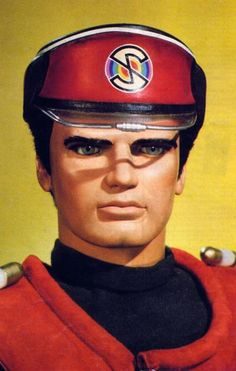 Captain Scarlet - my kind of puppet! If it is possible to have a crush on a puppet then he was mine. I think it was the Cary Grant voice.