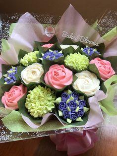 Spring bouquet www.bakedblooms.com