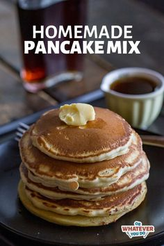 Homemade Dry Pancake Mix using pantry staples plus the addition of buttermilk powder! Great to keep around for a rainy day. Traeger Recipes, Smoked Meat Recipes, Oven Recipes, Brunch Recipes, Baking Recipes, Easy Recipes, Oven Cooking, Easy Cooking, Smoking Meat Recipes