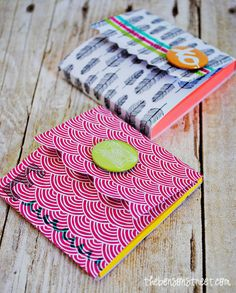 Adorable Note Pad Covers with Amy Tangerine at thebensonstreet.com