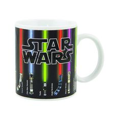 STAR WARS  Color Change Ceramic Mug ❤ liked on Polyvore featuring home, kitchen & dining, drinkware, star wars ceramic mug, ceramic mugs, star wars mug and colored drinkware