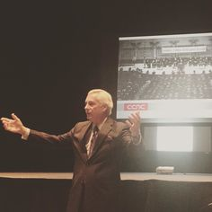 Bob Mill talks about the first #CCAC graduating class from 1968 at #CCAC Then & Now. #CCAC50