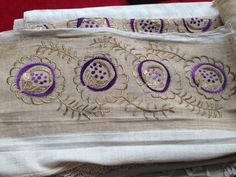 Saree Blouse Designs, Handicraft, Bed Pillows, Ottoman, Traditional, Embroidery, Weapon, Needlepoint, Craft