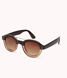 13a1659641 What YOU Should Be Buying At Forever 21 RIGHT NOW Black Round Sunglasses