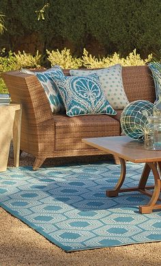 Like its namesake island, our Madeira Modular Seating elicits carefree sophistication.   Frontgate: Live Beautifully Outdoors