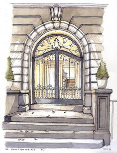 10 Montgomery Place by James Anzalone, via Flickr