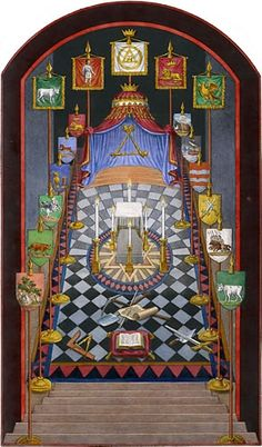 Harris Royal Arch Tracing Board