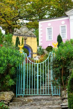 The weird and wonderful village of Portmeirion — The Ordinary Lovely Cool Places To Visit, Places To Travel, Places To Go, Norm Of The North, Italian Village, Colourful Buildings, Strange Places, Cloudy Day, Weird And Wonderful