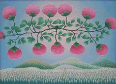 Ivan Rabuzin, Ink In Water, Naive Art, Illustrations, Whimsical Art, Travel Posters, Art Images, Flower Art, Landscape Paintings
