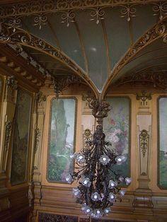 Villa Lumière (Hôtel de ville depuis 1927), fin XIXe – Evian . France