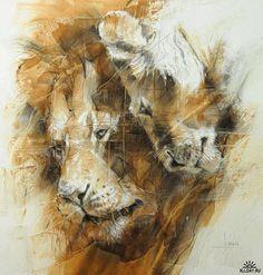 Animal artist Anne London