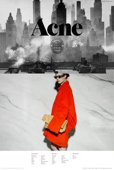 Acne Studios Stockholm Web Design