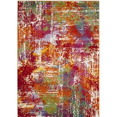 You'll love the Christy Orange/Red Area Rug at Wayfair - Great Deals on all Rugs products with Free Shipping on most stuff, even the big stuff.