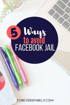 Are you in direct sales? Looking to avoid Facebook jail? Read my 5 ways to save your direct sales business and stay out of Facebook jail! #directsales #facebookjail #socialmedia #onlinemarketing via @owlandforever