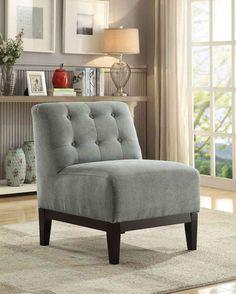 Belleze Nailhead Trim Velveteen Storage Spa Chaise Lounge Chair