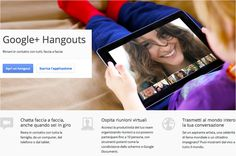 Google Hangouts - Web-based - Video conferencing for up to 10 participants. www.google.com/hangouts/