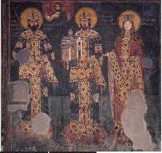 Arilje, Church of St. Achilleos, ktetorial composition