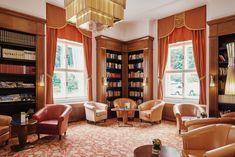 Lobby at the Falkensteiner Hotel Grand MedSpa Marienbad, Czech Republic Medical Spa, Spa Treatments, Hotel Spa, Czech Republic, Modern, Home Decor, Art Nouveau, Haus, Homemade Home Decor