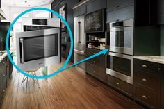 Embrace Accessibility Because It'll Make Your Life Easier (9-kitchen-trends-that-cant-go-wrong) - Bosch side open oven
