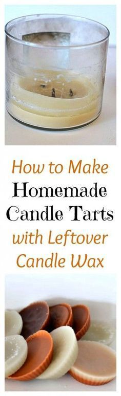 Don't throw the wax away after your favorite candle can no longer be lit. Try making your own homemade candles instead to get the most for your money.