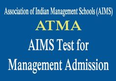 Looking for AIMS Test for Management Admission 2017. Visit Yosearch for ATMA 2017 Eligibility, Applications, Exam Pattern, ATMA Exam Dates and more details