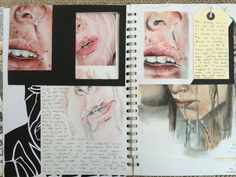 Sketchbook inspiration, sketchbook ideas, a level art sketchbook, graphic a Kunstjournal Inspiration, Sketchbook Inspiration, Sketchbook Ideas, Identity Artists, Artist Research Page, Kunst Portfolio, Gcse Art Sketchbook, A Level Art Sketchbook Layout, Sketchbooks