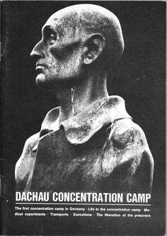 DACHAU CONCENTRATION CAMP 1972 STAPLE BOUND PAPERBACK BOOKLET