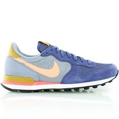nike WMNS INTERNATIONALIST blau/weiss