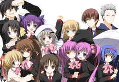 I just watch this Little Busters! recently, i really enjoy the story, i recommend to all slice of life fans  P/s next i will watch little buster EX and their OVA too