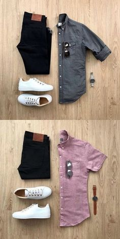 men's fashion grey men's adidas sneackers outfit with style men's fashion style outfit and outfit grids inspirations style grid for men fashion for men Mens Casual Dress Outfits, Formal Men Outfit, Stylish Mens Outfits, Classic Outfits, Work Outfits, Stylish Outfits, Men Dress, Men's Business Outfits, Business Casual Attire
