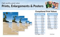Sam's club (as of 3/31/15) Prints, Enlargements and Posters banner