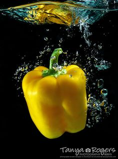 Yellow Pepper Plunge - TanyasPhotos.com