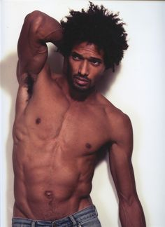 Oh. Hey. Um... Natural hair - Oh men in big hair.. Afro fashion styles. Shirtless man..fire in my panties. Yumms!