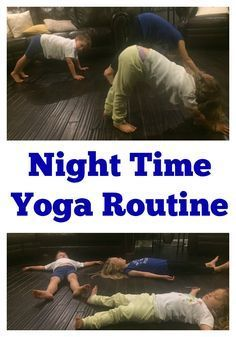 Is bedtime a struggle at your house? Are kids too energized after a long day? Try this night time yoga routine for kids to help calm them before bed! Yoga For Kids, Exercise For Kids, Night Time Yoga, Toddler Yoga, Toddler Sleep, Bedtime Yoga, Bedtime Routines, Yoga Routines, Deep Sleep Music