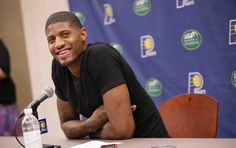 Pacers Press Conference With Paul George | Indiana Pacers