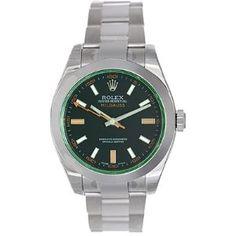 Rolex Milgauss Anniversary Edition Mens Watch 116400GV (Watch)  http://www.amazon.com/dp/B001V7H6EE/?tag=iphonreplacem-20  B001V7H6EE