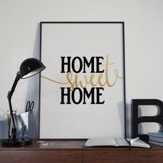 Home Sweet Home Poster #home