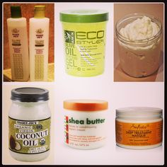 Some natural hair products to try.