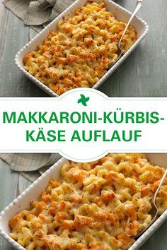 Achtung Soulfood! Wer kann bei einem Makkaroni-Kürbis-Käse Auflauf zubereitet im Thermomix schon nein sagen?