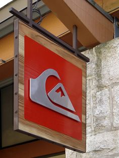 @Quiksilver Storefront Hanging Sign
