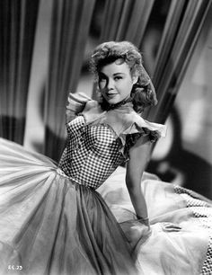 Vera Ellen. Boy she gave Ginger a run for her money when it came to dancing.