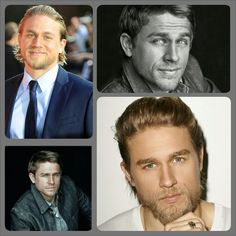 Charles Hunnam cast as Christian Grey...works for me!