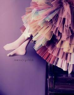 Whimsical little girl