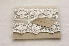You can't go wrong with rustic lace.   All The Boho Wedding Inspiration You Could Possibly Need