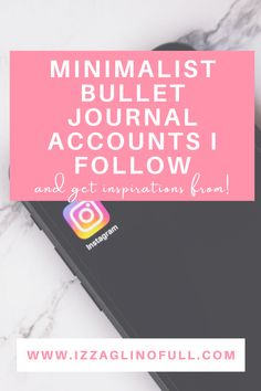 Today I created a list of minimalist bullet journal accounts I follow. Since 2017 I've been maintaining a minimalist bullet journal. The switch to a minimalist bullet journal helped me so much in terms of productivity and I have to thank all the accounts below for the inspirations Productivity, Lifestyle Blog, Accounting, Journaling, Minimalist, Bullet Journal, Unique, Inspiration, Instagram