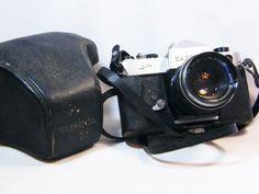Buy Vintage Yashica camera with Yashinon-DX lens for 35mm Camera, Rare Antique, Binoculars, Lens, Antiques, Stuff To Buy, Vintage, Antiquities, Antique