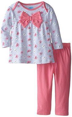 Girls Summer Outfits, Dresses Kids Girl, Little Girl Outfits, Toddler Outfits, Baby Girl Bows, Girls Bows, Baby Girls, Kids Nightwear, Cute Sleepwear