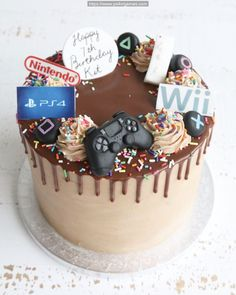 pictures concerning PlayStation including gamer shots in addition to to see where VR is going, is VR right here to stay as a video gaming console or is it industrial. Teen Boy Birthday Cake, Birthday Drip Cake, Brithday Cake, Birthday Cakes For Teens, Playstation Cake, Xbox Cake, Teen Boy Cakes, Cakes For Boys, Fete Laurent