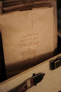 Purchase a custom stamper for popcorn treat bags